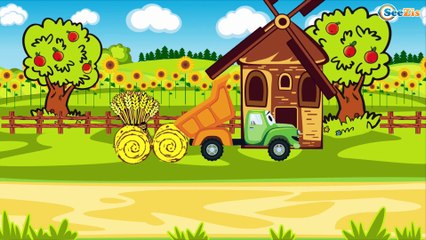 СБОРНИК: Трактор Павлик Скорая помощь и Полиция спешат на помощь - Развивающие видео для детей