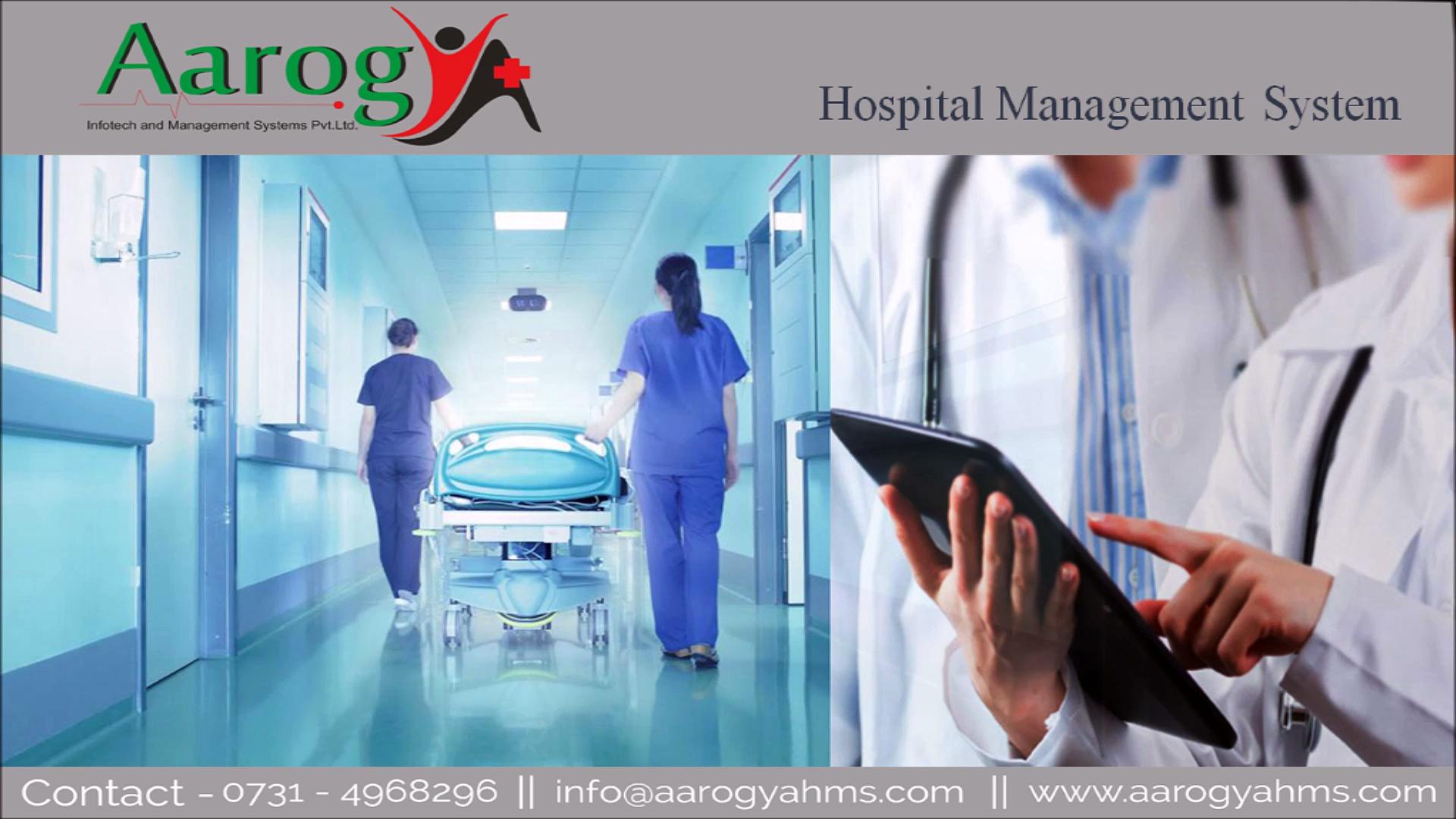 AIMS   Healthcare Software   Software Development   Hospital Software. video
