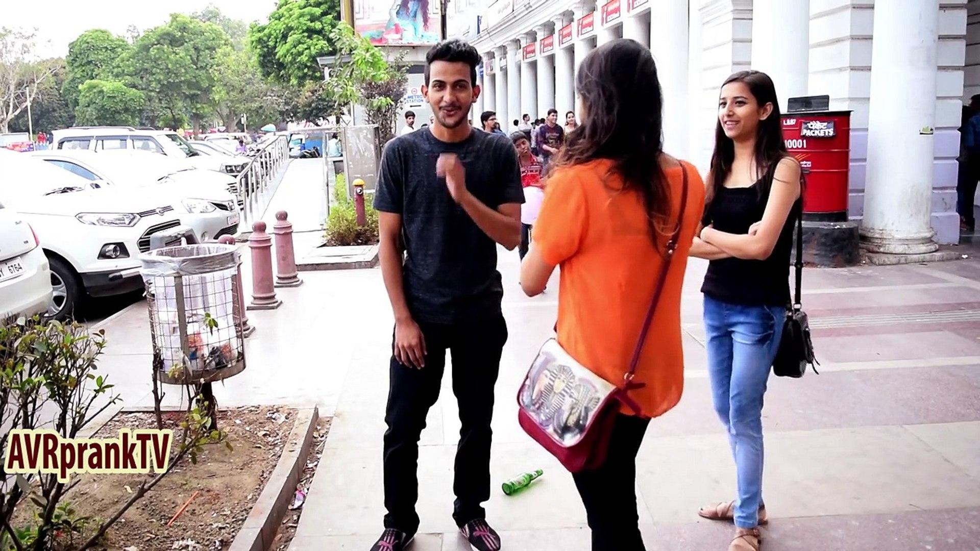 Kissing Prank India Spin The Bottle   AVRprankTV