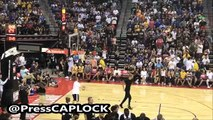 LaMelo Ball Halftime Shooting Contest During Lonzo Ball First Summer league Game With The Lakers