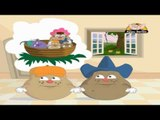 Aaloo Kacha Aloo - Kids Animation Nursery Rhymes (Hindi)