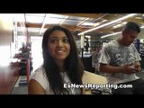 Latika will be doing the the biggest loser at the garcia boxing academy