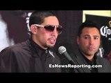 danny garcia post fight Press Conference - amir khan vs danny garcia