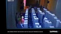 Une femme détruit une œuvre d'art en voulant prendre un selfie (vidéo)