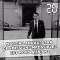 Martin Landau, star de «Mission: Impossible», est mort à 89 ans