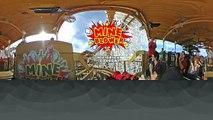 Mine Blower VR 360 Roller Coaster POV Fun Spot America Orlando