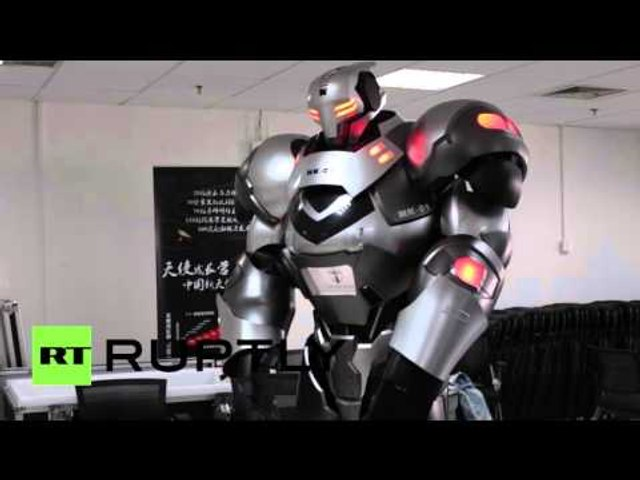 Move Aside Iron Man Chinese Tech Firm Unveils Mecha Exosuit