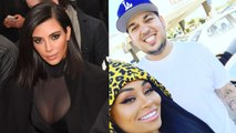 'KUWTK': Kim Kardashian Says She 'Could Care Less' About Brother Rob's Engagement to Blac Chyna