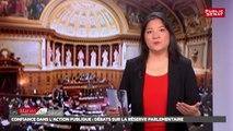 PJLO Confiance dans l'action publique (réserve parlementaire) - Les matins du Sénat (17/07/2017)