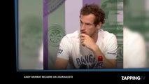 La leçon d'Andy Murray sur les propos sexistes d'un journaliste (vidéo)