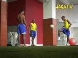Ronaldinho, Roberto Carlos et Robinho