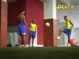 Joga Bonito  - Ronaldinho- robinho e roberto carlos