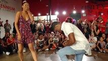 Une danseur demande en mariage sa chorégraphe durant une danse
