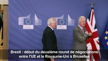 Brexit: 2e round de négociations entre l'UE et le Royaume-Uni