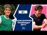 Stefanos Tsitsipas vs Joao Domingues Highlights SCHEVENINGEN 2017