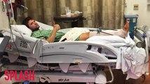 Ryan Phillippe Hospitalized With Leg Injury