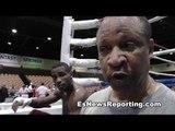 Boxing Trainer Ronnie Shields Talks To EsNews
