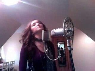 Nicki Minaj & Drake Moment 4 Life rap cover song by Sarah Ross Restuccio
