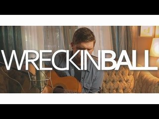 Devin Burris Acoustic- Wreckin' Ball Cover