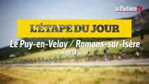 Tour de France. Etape 16  :  Le Puy-en-Velay/Romans-sur-Isère