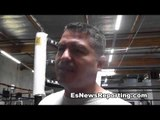 Robert Garcia on meeting jack nicholson, amir khan, meta world peace and canelo