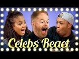 CELEBS TRY WEIRD BACON PRODUCTS (CELEBS REACT)