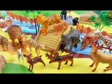 Learn Animals Names and Sounds | Wild Animals Toys for Kids | Fun Toddler Learn Animal