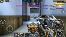 Crisis ion SEA - Flash knight on new map WASTELAND | crazy sniper aim off || mohon abai