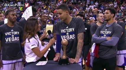 【NBA】Kyle Kuzma - Finals MVP  Lakers vs Blazers  July 17, 2017  Final  2017 NBA Summer League