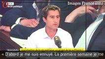 François Ruffin s'est «ennuyé» lors de sa première semaine à l'Assemblée