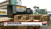 Beijing's boycott of S. Korean products hits Korean agricultural exports to China