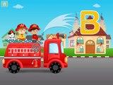 Et Anglais feu pour enfants Apprendre les tout-petits un camion camions Alphabet abcs
