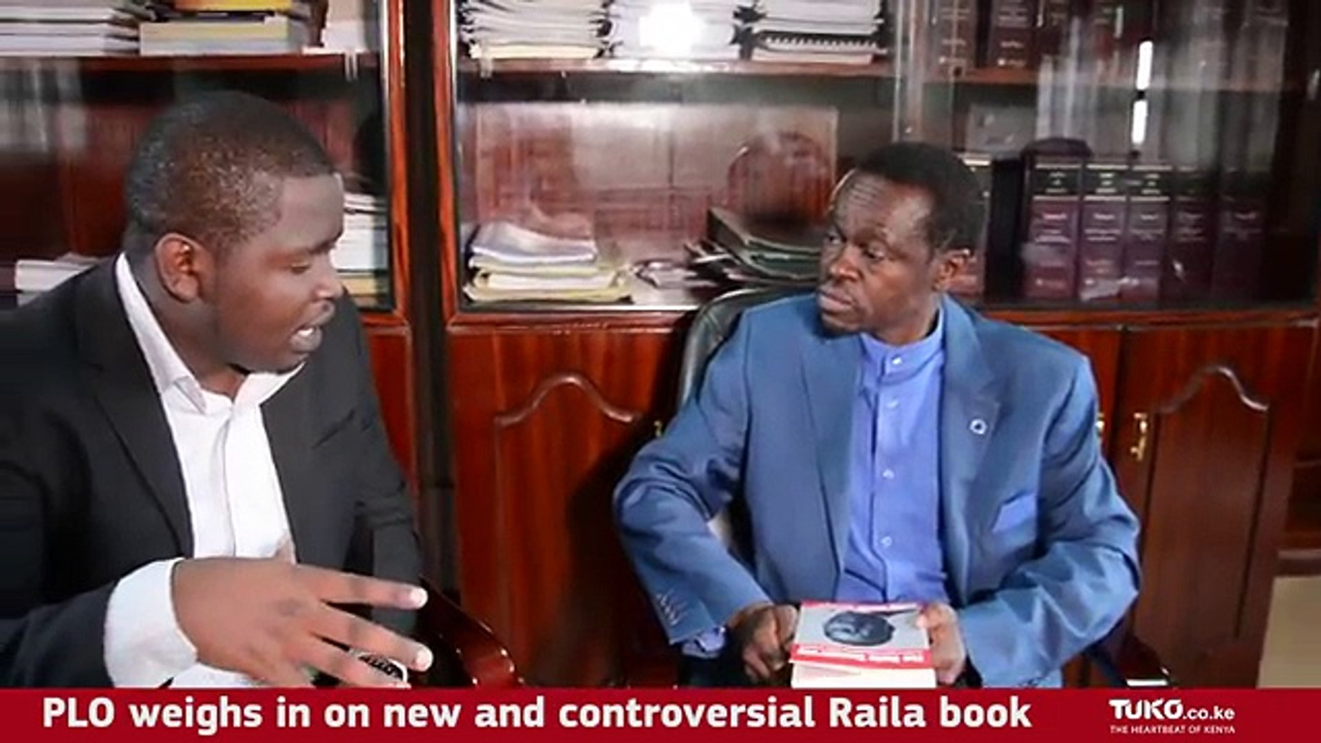 PLO Lumumba speaks about The Raila Conspiracy