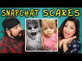 PARENTS REACT TO SNAPCHAT SCARES (SCARING KIDS WITH FILTERS)