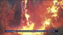 Alpes-Maritimes : l'incendie de Castagniers sous contrôle