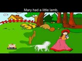 Mary had a Little Lamb with lyrics and sing along option