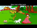 Mary had a Little Lamb - Nursery Rhyme‬ with Lyrics