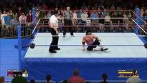 Bret Hart jumps Irwin R. Schyster WWF Prime Time Wrestling October 1991 (WWE 2K16 Universe