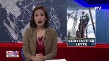 DOE, tiniyak na patuloy ang rehabilitasyon ng kuryente sa Region 8 at Bohol