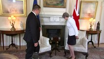Theresa May talks Defence with the Estonian Prime Minister