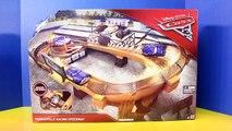 Coches relámpago juego carrera carreras pista de carreras juguetes pista Disney 3 thomasville doc hudson mcq