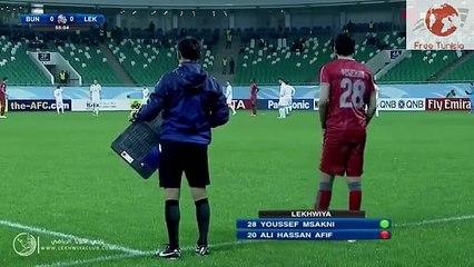 روعة اللاعب التونسي يوسف المساكني جنون المعلق