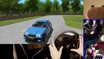 illegal Street Drifting & Racing, City Car Driving - BMW M3 e30 (Full HD new)