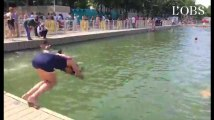 On a testé pour vous : le grand plongeon dans le bassin de la Villette
