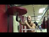 Brandon Krause Speed Bag Tricks