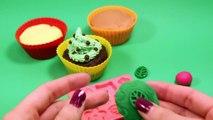 Petits gâteaux Comment faire faire jouer à Il Doh playdough playdoh muffin