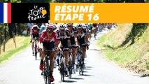 Résumé - Étape 16 - Tour de France 2017