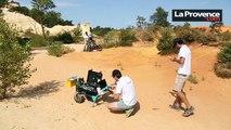 Vidéo : un radar dans le Vaucluse avant d'être envoyé... sur Mars !