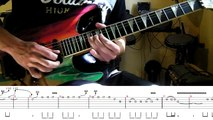 Iron Maiden Seventh Son Of A Seventh Son Dave Murrays solo lesson (with tabs and backing