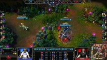 C9 vs Alliance Game 1 S4 Worlds  LoL World Championship 2014 Group D Cloud 9 vs ALL [720] part 2/2